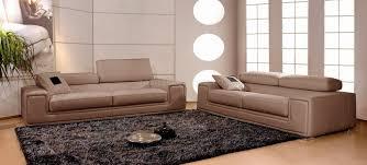 canapé en cuir canapés en cuir italien 3 places deux fauteuils