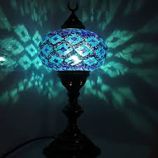 Turkish Mosaic Lamps Amazon by Amazon Com Ledu L557br Traditional Banker U0027s Lamp 14