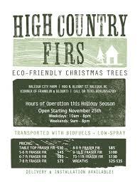 Fraser Fir Christmas Trees Nc a holiday tradition at raleigh city farm raleigh city farm