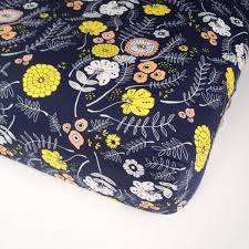 Navy And Coral Crib Bedding by Floral Crib Bedding Fitted Crib Sheets Mini Crib Bedding