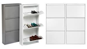 Review Dottus 3 Drawer Metal Shoe Cabinet