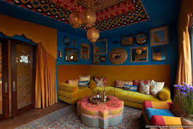 Home Design And Decor Indian Style Interior Bold