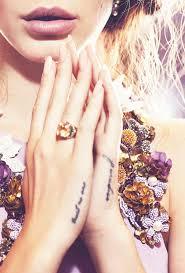 Hand Tattoo Locations 5 A679ca6df19bd748cc2e20274d0b2093 Lana Del Ray Trust No One