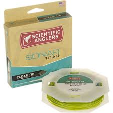 scientific anglers sonar titan clear tip fly line backcountry com