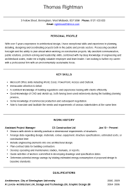 Architect CV Example And Template