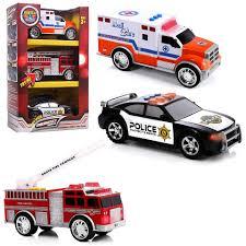 100 Fire Trucks Toys Top Right Emergency Vehicles Ambulance Truck
