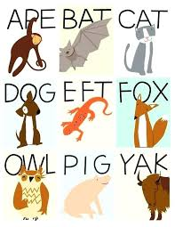 Three Letter Animals Name the best letter