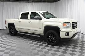 Pre-Owned 2014 GMC Sierra 1500 Crew Cab SLT 4x4 Truck In Wichita ... Used 2014 Gmc Sierra 2500hd Denali Crew Cab Short Box Dave Smith Bbc Motsports 1500 Base Preowned Slt 4d In Mandeville Best Truck Bedliner For 42017 W 66 Bed Columbia Tn Nashville Murfreesboro Regular Top Speed Crew Cab 4wd 1435 At Landers Extang Trifecta Tool 2500 Hd V8 6 Ext47455 My New All Terrain Crew Cab Trucks Sle Evansville In 26530206 Light Duty 060 Mph Matchup Solo And With Boat
