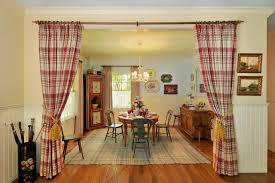 Walnut Creek Farmhouse Dining Room San Francisco In Curtain Ideas For