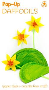 Fun Pop Up Daffodil Craft