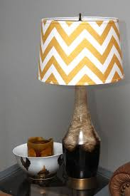 VIEW IN GALLERY Chevron Pattern Lamp Shade