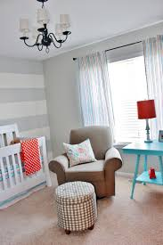 Orange Grey And Turquoise Living Room by Finally Our Baby Boy U0027s Aqua Orange U0026 Grey Nursery Reveal