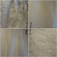 Sheer Curtain Fabric Crossword by Wedding Dress Fabric And Texture Details Ready Or Knot Omaha