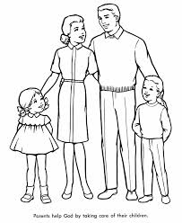 Trend Family Coloring Pages 43 For Your Picture Page With