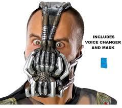 Halloween Voice Changer Walmart by Amazon Com Batman The Dark Knight Rises Bane Mask With