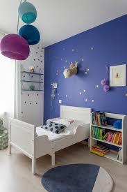 bleu chambre chambre fille bleu indigo contemporain chambre d