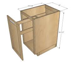 18 kitchen base cabinet trash pull out or storage cupboard with