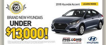 Phil Long Hyundai Dealership In Colorado Springs