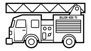 100 Fire Trucks For Toddlers Coloring Pages 12 2468