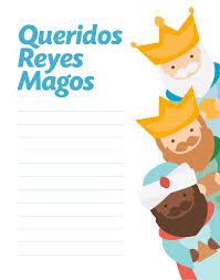 Más De 50 Cartas Para Enviar A Los Reyes Para Imprimir Y Descargar