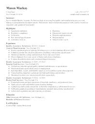 Quality Assurance Resume Call Center Objective