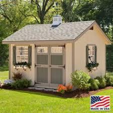 Pre Built Sheds Canton Ohio by 12 U0027x16 U0027 Pine Harbor Cape Codder Workshop Shed Deck Landscaping