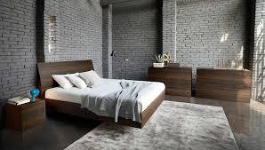 Vela Italian Platform Bed by Rossetto