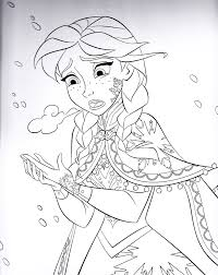 Spectacular Design Frozen Coloring Pages Disney 1000 Images About Kleurplaten On