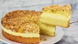 bestes bienenstich rezept bienenstich torte mit vanillecreme