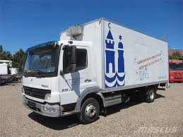 Used Mercedes-Benz Atego 815 4x2 Box Trucks Year: 2005 For Sale ...
