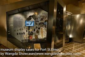 Museum Display Cases Recessed Wall Case
