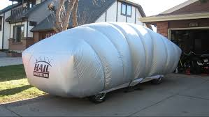 100 North Texas Truck Man Says His Inflatable Device Will Protect Your Vehicle
