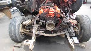 66 Chevy C-10 To 78 C-10 Front Suspension Swap - YouTube