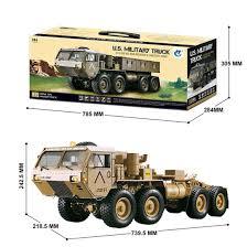 100 Gas Powered Remote Control Trucks 112 8x8 RC Car 24G High Horse Horsepower Methanol