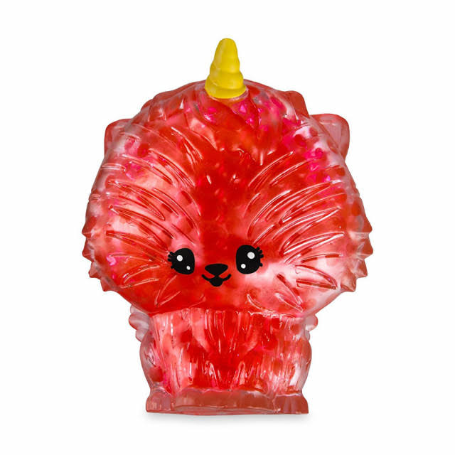 Squishies Bubbleezz Jumbo Jelly Ula Purrycorn Figure