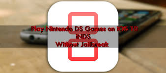 Install iNDS Nintendo DS Emulator on iOS 10 without Jailbreak
