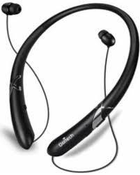 New Savings on Bluetooth Headphones Retractable Earbuds Neckband