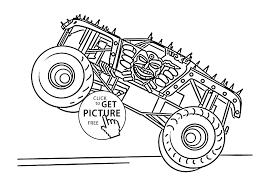 100 Monster Truck Coloring S P TelematikInstitutorg