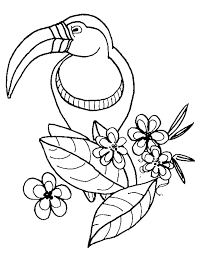 Preschool Coloring Pages Animals Printable Zoo
