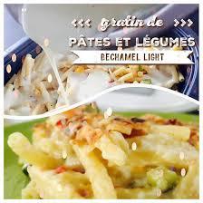 recette de gratin de pâtes et légumes béchamel light