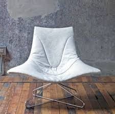 Ergonomic Living Room Chairs by Awesome Ergonomic Living Room Chairs Covered By White Microfiber