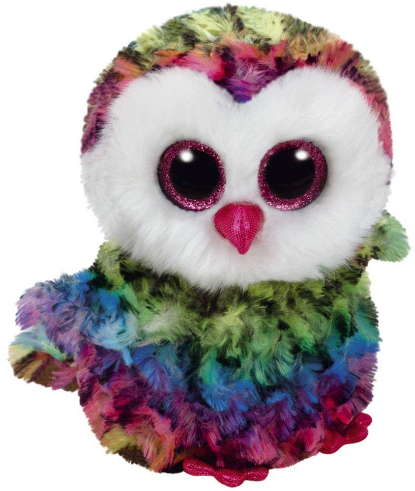Ty Beanie Boos - Owen The Owl, 6""