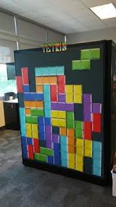 look at this decorated cubicle totally awesome
