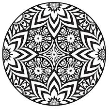 Zentangle Mandala Coloring Pages For Adults