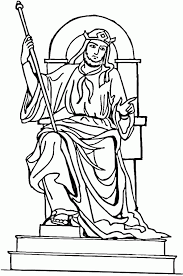 King Saul Coloring Page Sgmpohio 266639 Pages