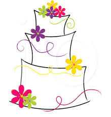 Wedding Cake Clipart craft projects · modern