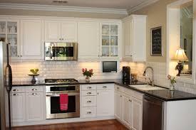 Sage Green Kitchen White Cabinets by Desk In Kitchen White Kitchen Cabinets With Open Floor Plan White