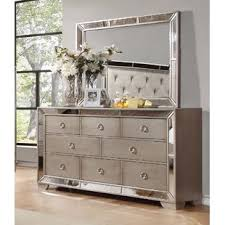 Mirrored Dressers You ll Love