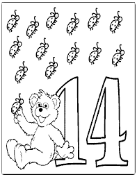 Best Photos Of Number Coloring Pages 14