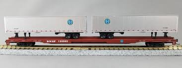 N Scale 89′ Flatcar W/45′ Trailers BNSF | Con-Cor International Tomytec Nscale Truck Collection Set D Lpg Tanker Gundambuilder N Scale Classic Metal Works 50263 White Wc22 Kraft Finenscalehtml Oxford Diecast 1148 Ntcab002 Scania T Cab Curtainside Ian 54 Ford F700 Delivery Trucks Trainlife Gasoline Tanker Semi Magirus Truck Wiking 1160 Plastic Tender Truckslong Usrapr 484 Northern 1758020 Beer Trucks Athearn 91503c Cseries Cadian 100 Ton N11 Roller Bearing W Semiscale Wheelsets Black 1954 Green Giant 2 Pack 10 Different Ultimate Scale Trucks Bus Kits Most In Orig